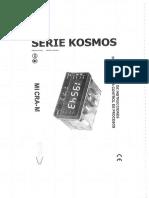 Manual Serie Kosmos