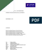 Estados Financieros LATAM 09-2016 - Inglés