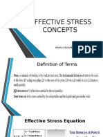 Effective Stress Concepts