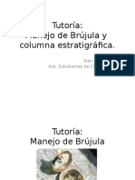 Tutoria Manejo de Brujula y Columna Estratigráfica