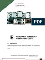 e. Pendekatan, Metodologi Dan Program Kerja Ok
