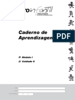 Caderno de Aprendizagens Modulo 1 Unidade 8