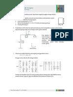 Portal Bidang dengan Metode Matriks
