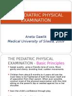Physical Examination in Paediatrics