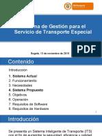 Presentacion Tecnologia Servicio Especial MinTransporte 13Nov2015