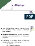 Module-III Strategic Management I