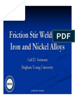 Iron and Nickel Alloys