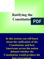 8th Ratifying the Constitution