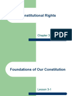 Ch 3 - Constitutional Rights