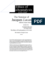 Lacan Jacques-The Ethics of Psychoanalysis-Seminar VII