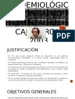 Estudio Epidemiológico de Salud Mental en Cajamarca-2003