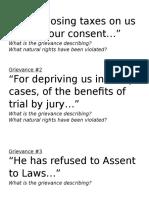 doi center grievances
