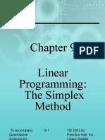c9 Lp, The Simplex Method