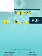 Ch 03 Decision Analysis