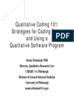 Qualitative Coding_strategies for Coding Texts and Using a Qualitative Software Program
