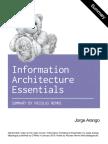 Information Architecture Essentials by Jorge Arango Summary