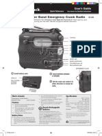 RadioShack WB 20-108A Manual