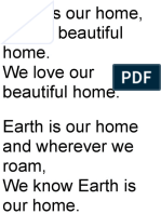 Earth is Our Home Lyrics