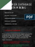database and data mining