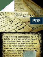 Tekstong-Impormatibo