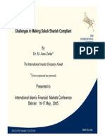 Challenges to Making Sukuk Sharia Compalience by Dr. M. Anas.pdf
