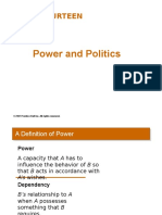 Chap 14 Power & Politics