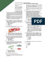 Examen Recuperacion Ciencias Septimo i