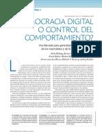 ¿Democracia digital o control del comportamiento?