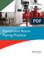 Bell & Gossett Equipment Room Piping