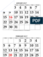 2017 Large Print