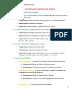 Tema 2 El Clima y Vegetación de España y Europa