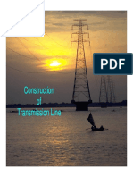 Transmission Tower Installation Process