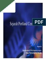 Sejarah Portland cement