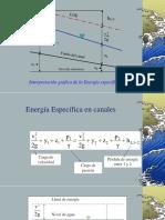 Energia Especifica en Canales