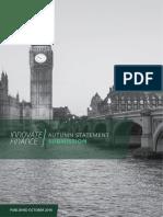 Innovate Finance Autumn Statement October 2016 1