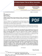 "24_Enhancement of the Quantum of BSNL Contribution Towards ""Superannuation Benefits Scheme"""
