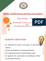 2851-Section I-International Business Management-I - Introduction & Concepts of International Business Management