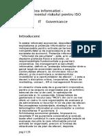Securitatea Informatiei - Managementul Riscului Pentru ISO 27001