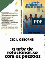 A Arte de Relacionar-se Com as Pessoas - Cecil Osborne