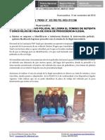 Nota de Prensa Nº 822 - 14oct16-e