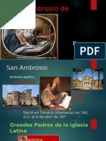 San Ambrosio de Milan