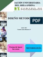 Diseño Metologico Investigacion