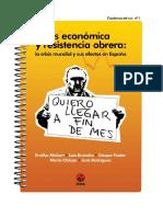 Crisis Economica y Resistencia Obrera - Varios Autores