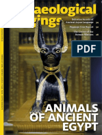 Archaeological Diggings, Au 2015-03~04 Vol. 22 No. 2 - Animals of Ancient Egypt