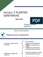 Redes y Plantas Sanitarias Clases