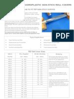 FEP Roll Cover Data Sheet