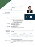 Priyaranjan Resume