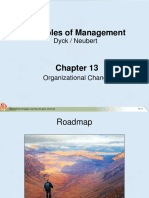 Chapter 13 Organizational Change