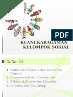 KEANEKARAGAMAN KELOMPOK SOSIAL