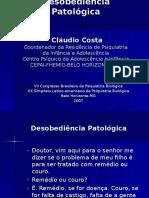 Aula Desobediência Patológica